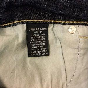 Vanilla Star Shorts - Vanilla Star distressed jean shorts size 11